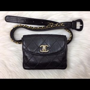 Chanel waist belt bag